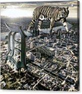 Detroit Acrylic Print