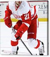 Detroit Red Wings V Anaheim Ducks Acrylic Print
