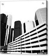 Detroit Ren Cen Acrylic Print