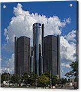Detroit Renaissance Center Acrylic Print