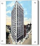 Detroit - The Kresge Building - West Adams Street - 1918 Acrylic Print