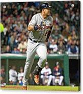 Detroit Tigers V Cleveland Indians Acrylic Print