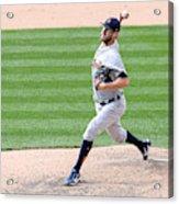 Detroit Tigers V Colorado Rockies Acrylic Print