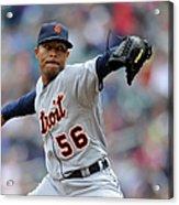 Detroit Tigers V Minnesota Twins Acrylic Print