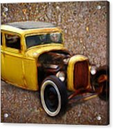 Deuce Coupe On Rust  Acrylic Print