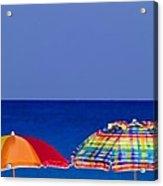 Deuce Umbrellas Acrylic Print