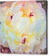 Deuteronomy 7 9 Acrylic Print