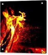 Devil Flame Acrylic Print
