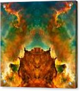 Devil Nebula Acrylic Print