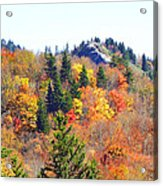 Devil's Courthouse In The Fall Acrylic Print