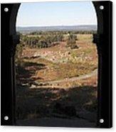 Devils Den From Little Round Top In Gettysburg Acrylic Print by William Kuta