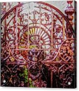 Devils Gate Acrylic Print