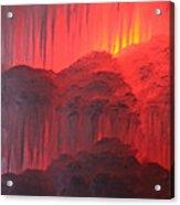 Devil's Hideout Acrylic Print