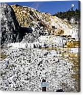 Devils Thumb - Yellowstone Acrylic Print