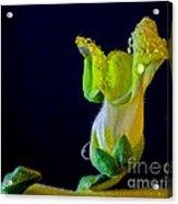 Dew On The Dragon Acrylic Print