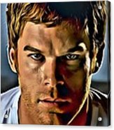 Dexter Portrait Acrylic Print