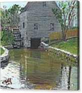 Dexter's Grist Mill - Cape Cod Acrylic Print