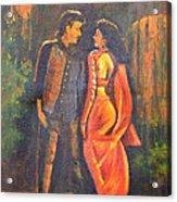 Dhak Dhak Acrylic Print