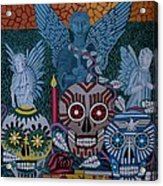 Dia De Los Muertos Acrylic Print by Anthony Morris