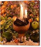 Dia Del Muerte Altar Acrylic Print