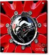 Diablo Wheel Hub Acrylic Print