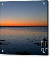 Dialing Up Dawn Acrylic Print