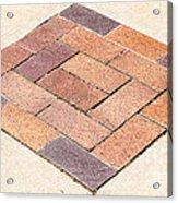 Diamond Bricks Acrylic Print