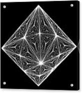 Diamond Crystal  Acrylic Print