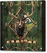 Diamond Elk Acrylic Print