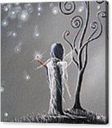 Diamond Fairy By Shawna Erback Acrylic Print by Shawna Erback