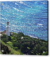 Diamond Head Lighthouse - Hawaii Acrylic Print