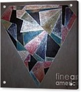 Diamond In The Mud Acrylic Print