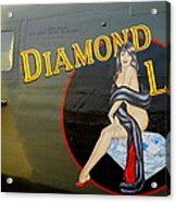 Diamond Lil B-24 Bomber Acrylic Print