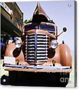 Diamond T Truck - Sahara Acrylic Print