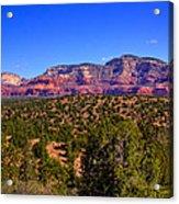Diamondback Gulch Near Sedona Arizona Acrylic Print