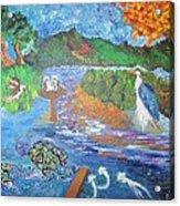 Diamondback Terrapin Maryland Bay Preserve Acrylic Print