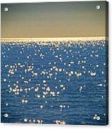 Diamonds On The Ocean Acrylic Print