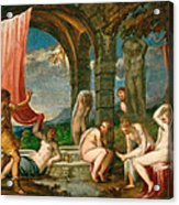 Diana And Actaeon Acrylic Print