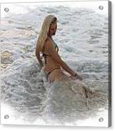 Diana In Cancun Acrylic Print