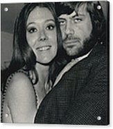 Diana Rigg And Oliver Reed To Star In Film �the Acrylic Print