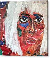 Diane Acrylic Print by Diane Fine