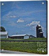 Diary Farm Acrylic Print