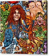 Diary Of Demons Dementia And Dirty Women Acrylic Print