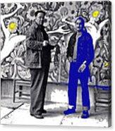 Diego Rivera Ted Degrazia  Mexico City Mexico Circa 1942-2013 Acrylic Print