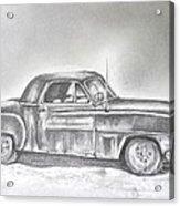 Diehard Dodge Acrylic Print