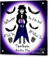Different Names For Halloween Acrylic Print by Eva Thomas
