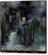 Differentiate New York City Acrylic Print