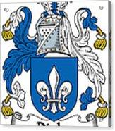 Digby Coat Of Arms Irish Acrylic Print