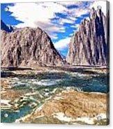 Digital Art 1 Acrylic Print