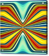 Digital Art Pattern 8 Acrylic Print by Amy Vangsgard